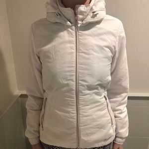 Nike lightweight puffer jacket/heavy windbreaker